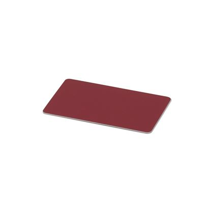 Kulörprov aluminium brunröd RAL 3011