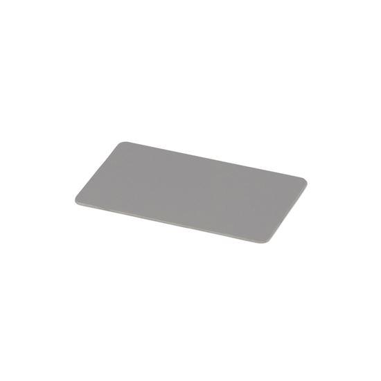 Kulörprov aluminium signalgrå RAL 7004