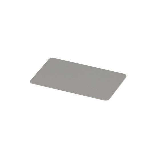Kulörprov aluminium silver RAL 9006