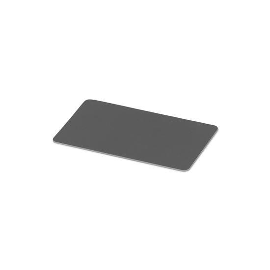 Kulörprov aluminium basaltgrå RAL 7012
