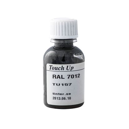 Bättringsfärg för målad aluminiumbeklädnad, Basaltgrå RAL 7012