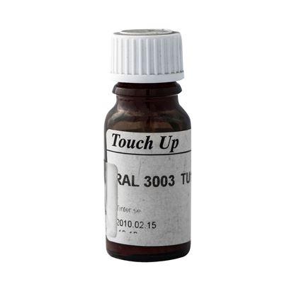 Bättringsfärg för målad aluminiumbeklädnad, Rubinröd RAL 3003