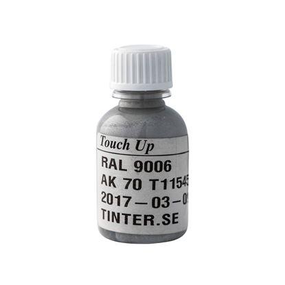 Bättringsfärg för målad aluminiumbeklädnad, Silver RAL 9006