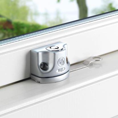 Fönsterlås BG750 Mattkrom, för utåtgående fönster